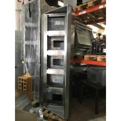 Campana industrial con aportación 2500x900 mm