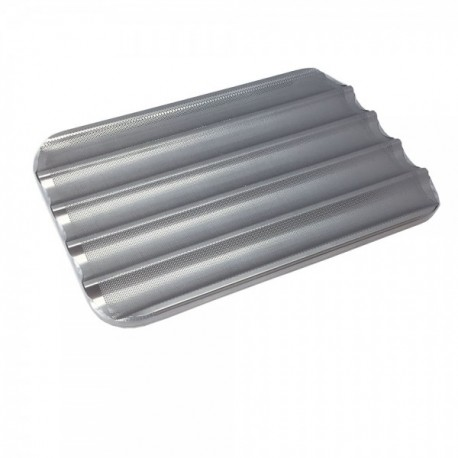 Bandeja aluminio perforado 60x40 5 canales