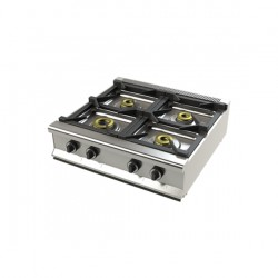 Cocina de 4 fuegos sobremesa fondo 700