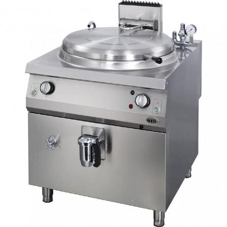 Marmita a gas calor indirecto Fondo 700
