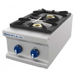 Cocina Repagás 2 fuegos sobremesa gama 750