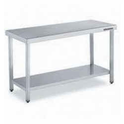 Mesa central con estante de 2400x700x850 mm OFERTA OUTLET