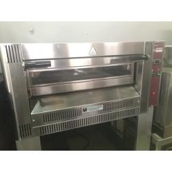 Horno a gas para pizzas con soporte 4 Dim 340 mm