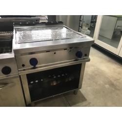 Fry Top acero rectificado Repagas fondo 900
