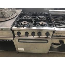 Cocina 4 fuegos con horno a gas Fagor fondo 750