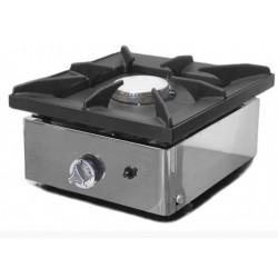 Cocina a gas sobremostrador