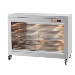 Vitrina Calefactora de pollos