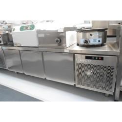 Mesa refrigerada para elementos de coccion de ocasion