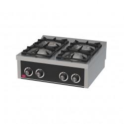 Cocina 4 fuegos sobremesa a gas