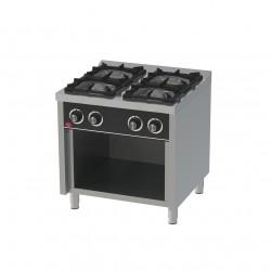 Cocina 4 fuegos mueble/estante