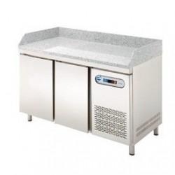 Mesa refrigerada GN1/1 para preparación de pizza 2,3 y 4 puertas