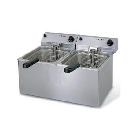 Freidora serie gastronorm doble cuba (de 4+4l a 10+10l) OFERTA