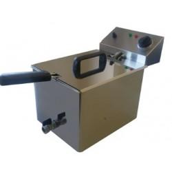 Freidora electrica con grifo vaciado de 8l-10litros
