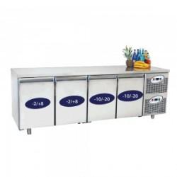 Bajomostrador combinado, congelación y refrigeración GN1/1
