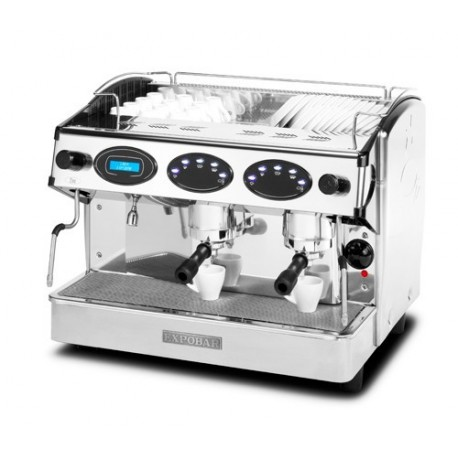 Máquina de café ELEN display control 2 gr negra
