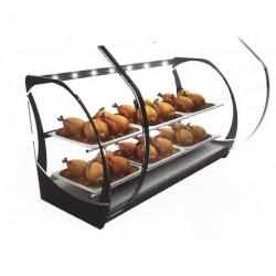 Expositor caliente para pollos