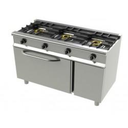 Cocina serie Eco 550 3 fuegos con horno