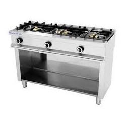 Cocina 3 fuegos sin horno Repagás