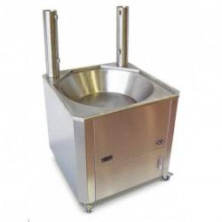 Freidora profesional churros a gas oil 22l