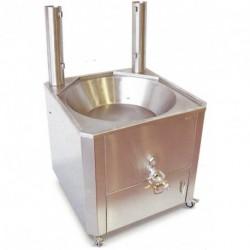 Freidora a gas para churros profesional de 14 y 22l