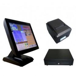 Conjunto TPV-KT800 con Impresora ITP83 y Cajon