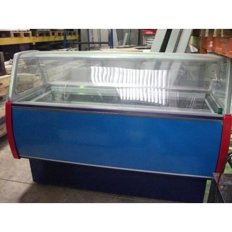 Vitrina de helados 13 cubetas Marca Framec