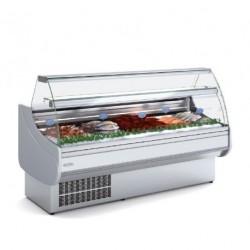 Vitrina expositora refrigerada pescado