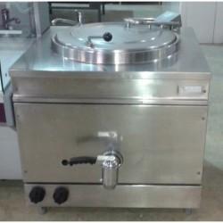 Marmita a gas calor directo 150 litros