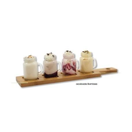Conjunto decorativo para salsas