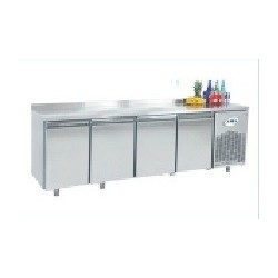 Mesa refrigerada 4 puertas fondo 600mm