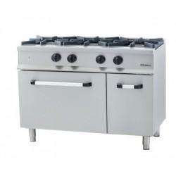 Cocina de 3 fuegos con horno