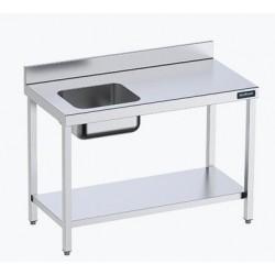 Mesa con cubeta a la izq y estante 1600x600 Oferta Outlet